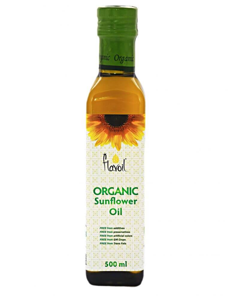 Organic Sunflower Oil 500ml